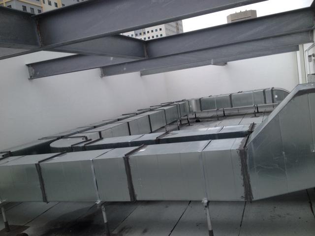 Sheet Metal Fiberglass Ductwork Fabrication